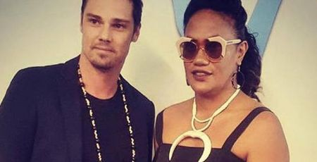 Jay Ryan and his girlfriend Dianna Fuemana.