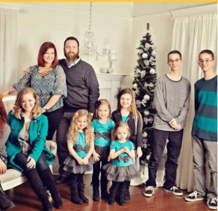 The entire family of Sullivan and Madylin