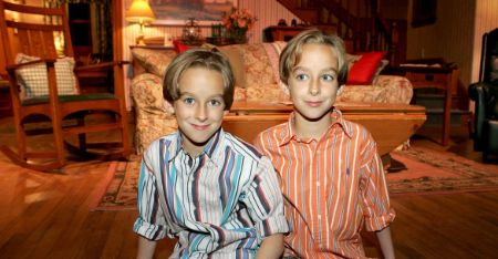 The Sweeten twins were only 18 months old when they joined acting