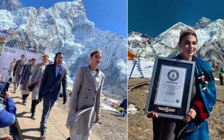 Nepal Sets the Record For Hosting a Highest Altitude Fashion Show - Here's Everything You Should Know