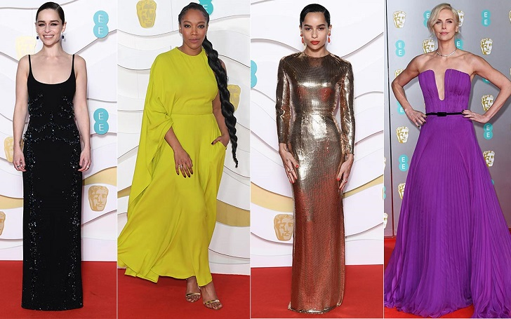 Check Out the Best Dressed Celebs at 2020 BAFTA Film Awards