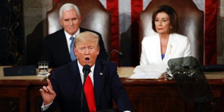 President Donald Trump's State of the Union address.