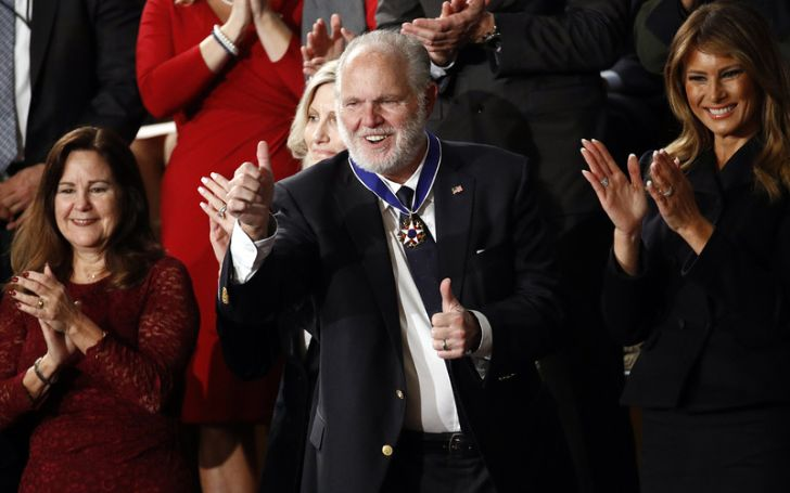 Rush Limbaugh Receives the Presidential Medal of Freedom at the State of the Union