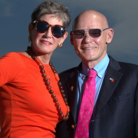 Mary Matalin Husband, Mary Matalin with her husband James Carville.