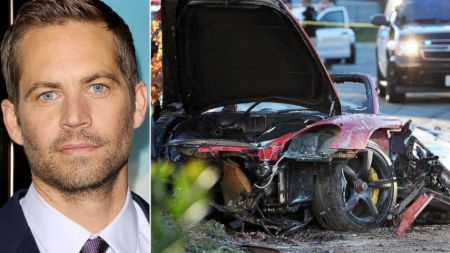 paul walker and his car which was in the accident
