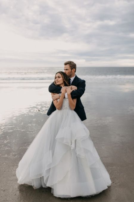 wedding photoshoot of Kellan Lutz and Brittany Gonzales