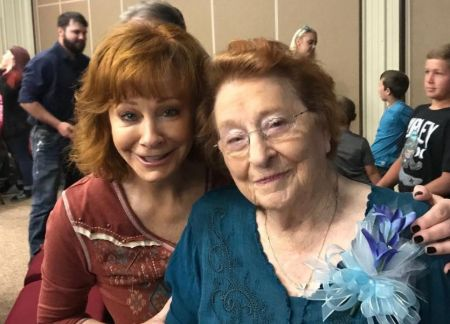 Reba asked people to send donation instead of sending flowers