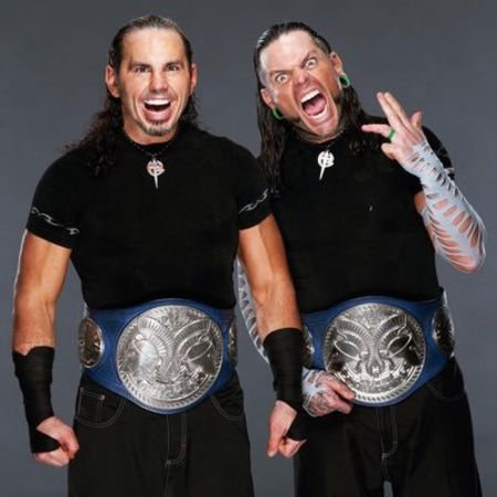 The Hardy Boyz; Jeff Hardy and Matt Hardy.