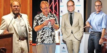 Alton Brown lost 50 pounds in a little time of 9 months.