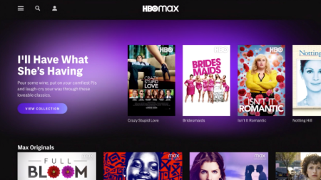 Streaming line HBO Max