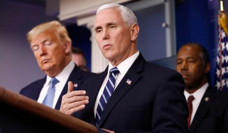 VP Mike Pence assured that President Donald Trump is also fine at the moment