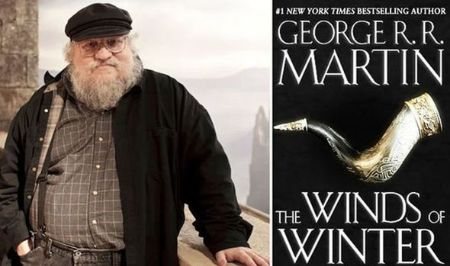 George R.R Martin's new book The Winds of the Weather