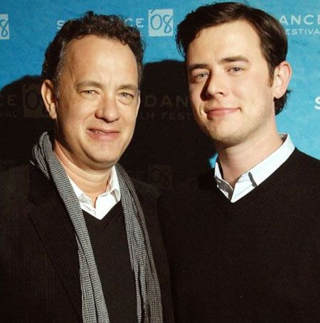 Colin Hanks is the son of Tom Hanks who like his father is a millionaire.