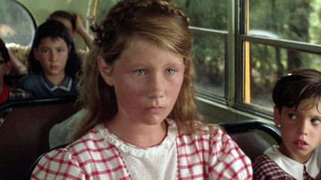Elizabeth Hanks in the Forrest Grump movie