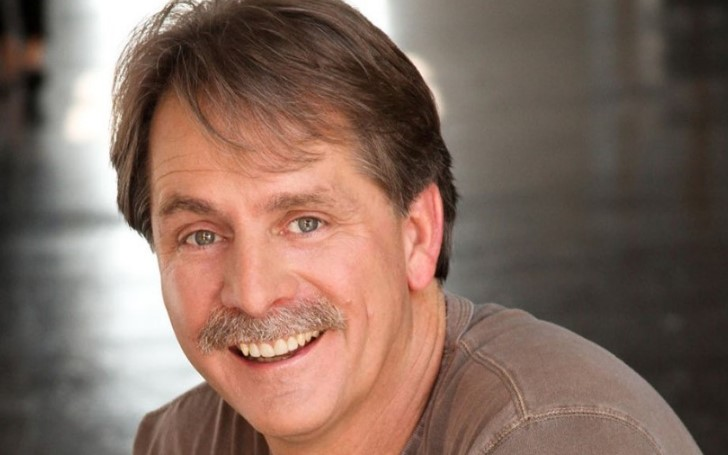Jeff Foxworthy Shaves off His Iconic Mustache for the First in 40 Years Amid Coronavirus Quarantine