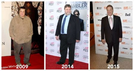 The amazing transformation of John Goodman from 2009 to 2015.