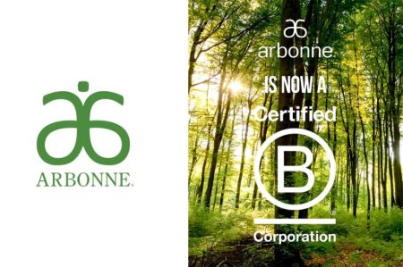 Arbonne is a certified B corporation.