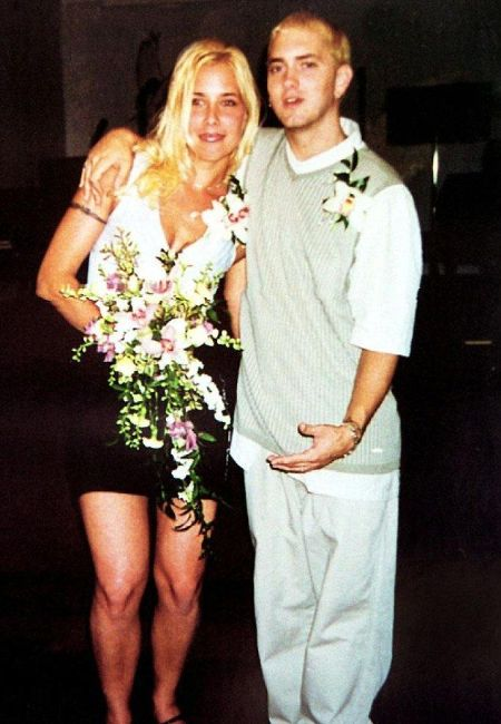 Kim Scott Mathers and Eminem married twice in 1999 and 2006.
