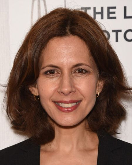 Jessica Hecht of The Sinner poses for a picture at an event.
