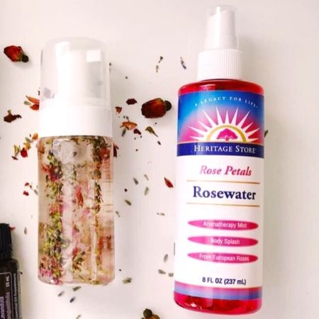 Did you know the Rose Water toner is edible as well?