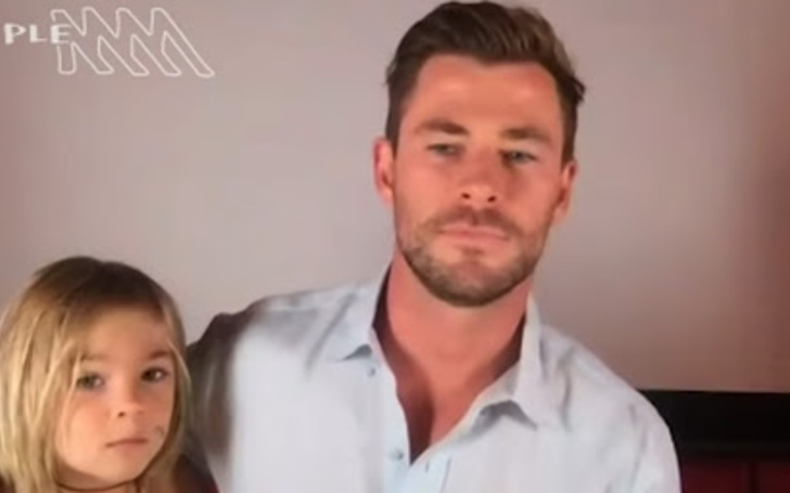 Chris Hemsworth's Adorable Son Crashes Thor Star's Video Interview