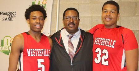 Kaleb Wesson - High School, Draft, Stats, NBA, Ohio State and More: Kaleb Wesson with his father, Kevin and brother Andre.