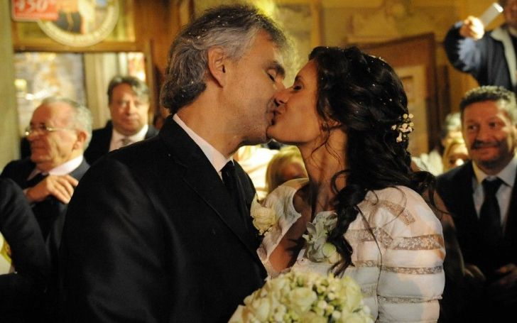 Veronica Berti is the Wife of Italian Musician Andrea Bocelli - The Couple Has a Very Special love Story to Tell