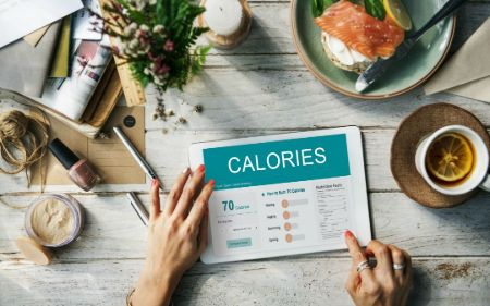 You can make a calorie chart for easy tracking of your food.
