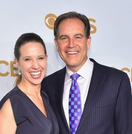 Jim Nantz and Richards were in relationship before Jim divorce was finalized.