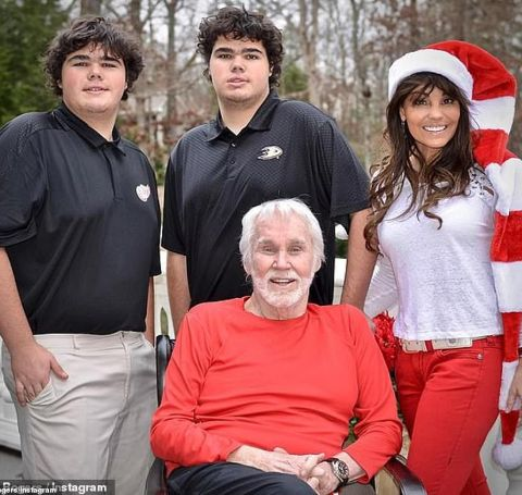 Jordan is the twin son of the late Kenny Rogers.