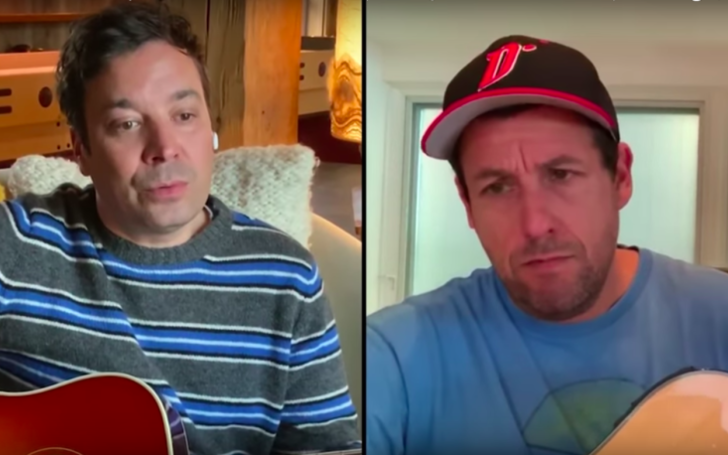 Adam Sandler Recalls Getting Angry At Jimmy Fallon Over Saturday Night Live Impressions
