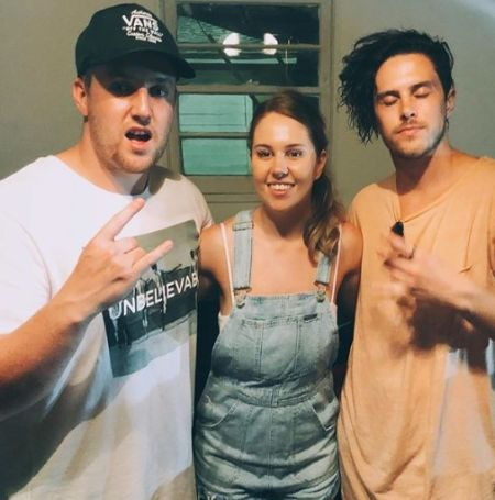 Corey with his siblings Jarrad Labarrie and Lissa Harrison.