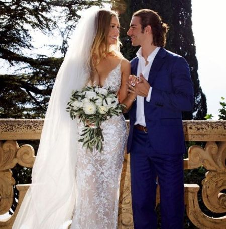 The beautiful daughter of late Phil, Birgen Hartman is happily married.