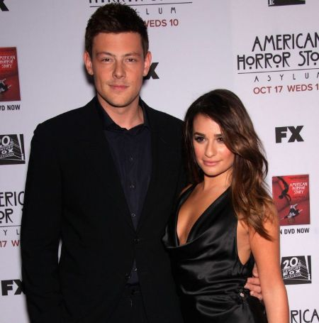 Lea Michele was in relationship with her late boyfriend  Cory Monteith.