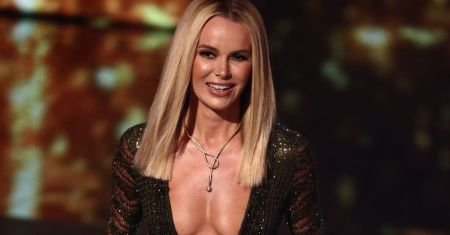 Amanda Holdem Plastic Surgery - Amanda Holden looking stunning in the Britain's Got Talent show.