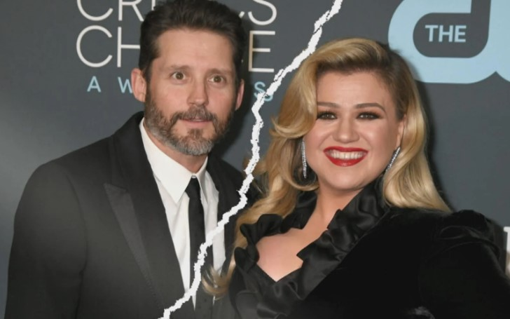 Kelly Clarkson Removes Her Wedding Ring Following Filing Divorce From Husband Brandon Blackstock