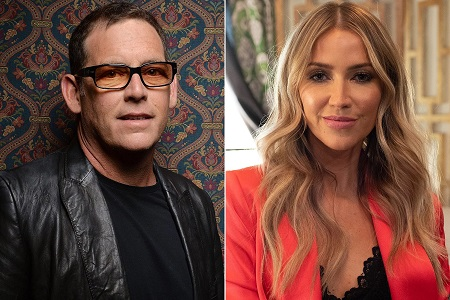 Kaitlyn Bristowe and the Bachelor creator Mike Fleiss.