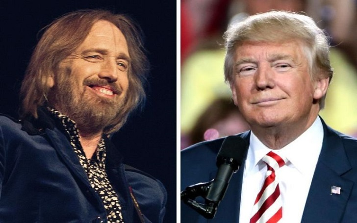 Tom Petty's Estate Issues a Cease and Desist Over Trump Using His Song, 'I Won't Back Down', for His Rally