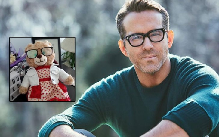 Ryan Reynolds wants to Help a Fellow Canadian Find Missing Teddy Bear