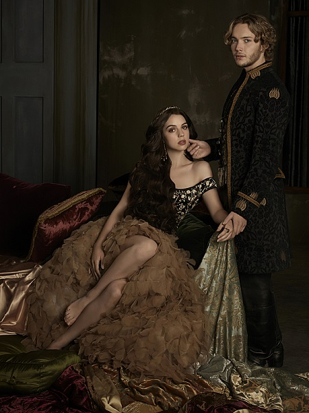 Toby Regbo and Adelaide Kane in Reign.