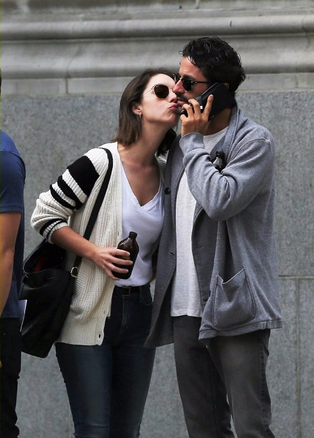 Adelaide Kane spotted kissing fashion exec Joey Pauline on Saturday afternoon (July 8, 2017) in Vancouver, Canada.