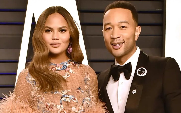 Chrissy Teigen Shows Off Her Baby Bump