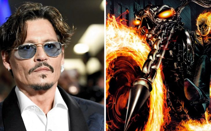 Is Johnny Depp returning with the role of Ghost Rider? Know Details Here!!!