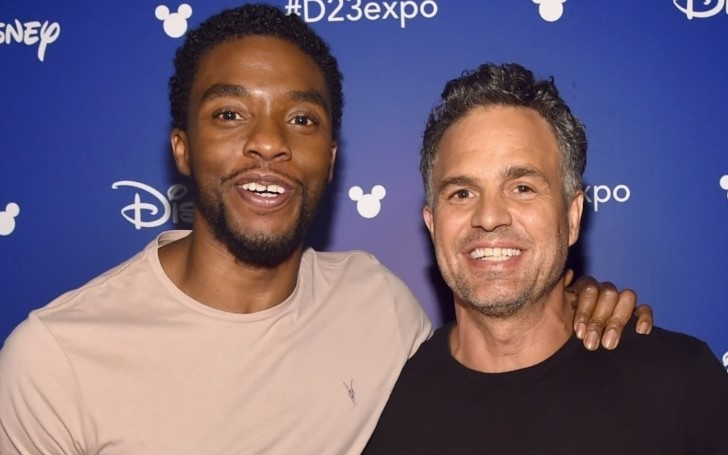 Mark Ruffalo Honors His Late Marvel Co-Star Chadwick Boseman