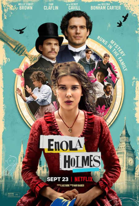 The Poster of the Movie 'Enola Holmes'