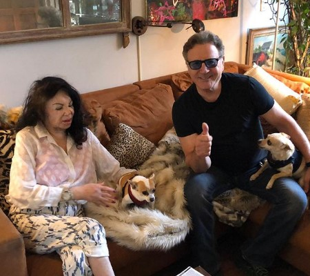 frank stallone and jackie stallone.