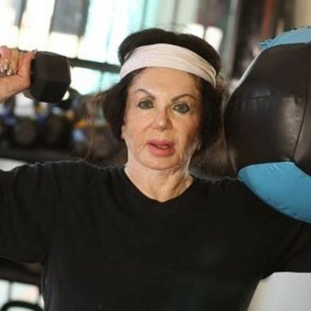 Jackie Stallone Working Out in Quarantine