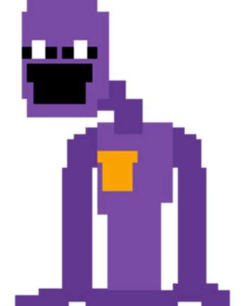 William Afton's portrayal in Five Nights at Freddy's.