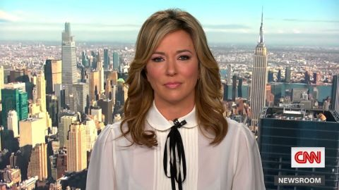 Brooke Baldwin caught on the camera while presenting the news.