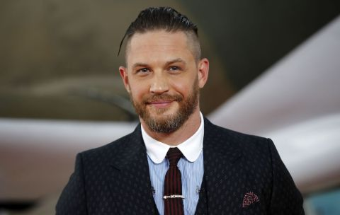 Tom Hardy caught on the camera.